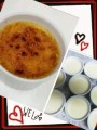 "Blog update: ""How to make creme brulee( 〃▽〃)"""
