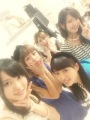 "Blog update: ""The 5 of us…(*^^*)"""