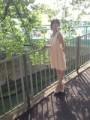 "Blog update: ""Outside debut♪( ´ε`)"""